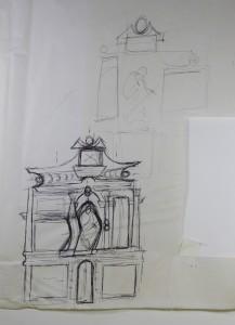 boceto retablo 1986 10