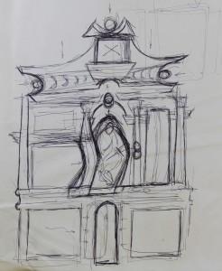 boceto retablo 1986 11